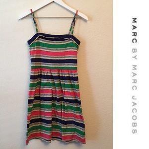 Marc by Marc Jacobs Stripe Knit Sleeveless Dress S